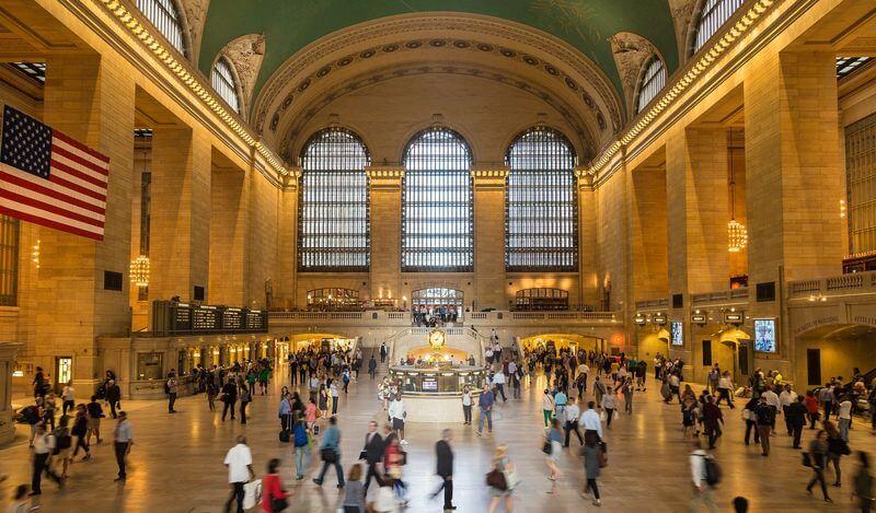 纽约网红打卡中央车站