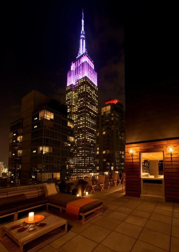 A.R.T NoMad (Arlo Roof Top) Empire State Building view
