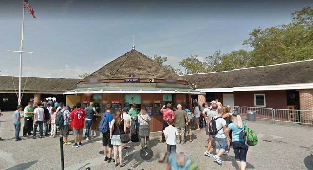 巴特里公园自由女神售票亭