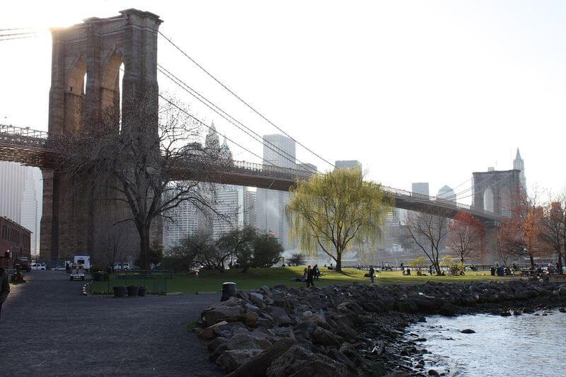 DUMBO网红打卡,布鲁克林大桥